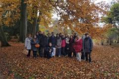 2016 November Im Schlosspark Sans Souci mit Guru Ji